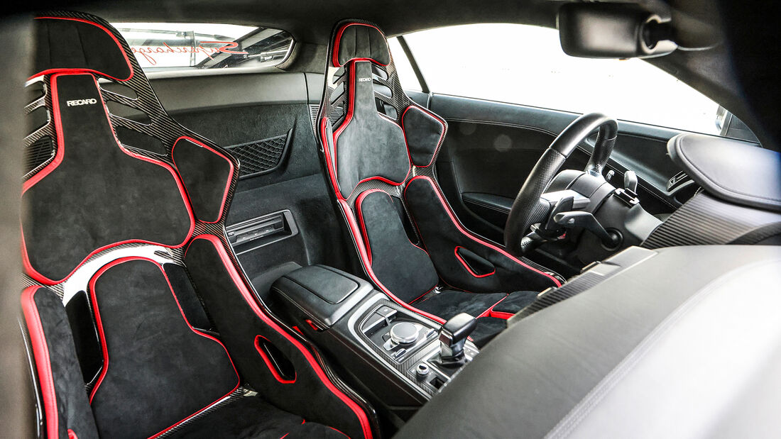 MTM-Audi R8 GT Street, Interieur