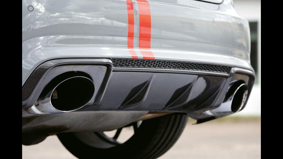 MTM-Audi RS 3 R, Endrohre