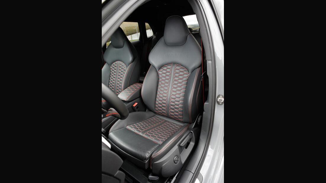 MTM-Audi RS 3 R, Fahrersitz