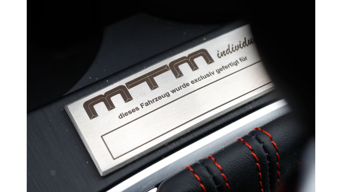 MTM-Audi RS 3 R, Plakette