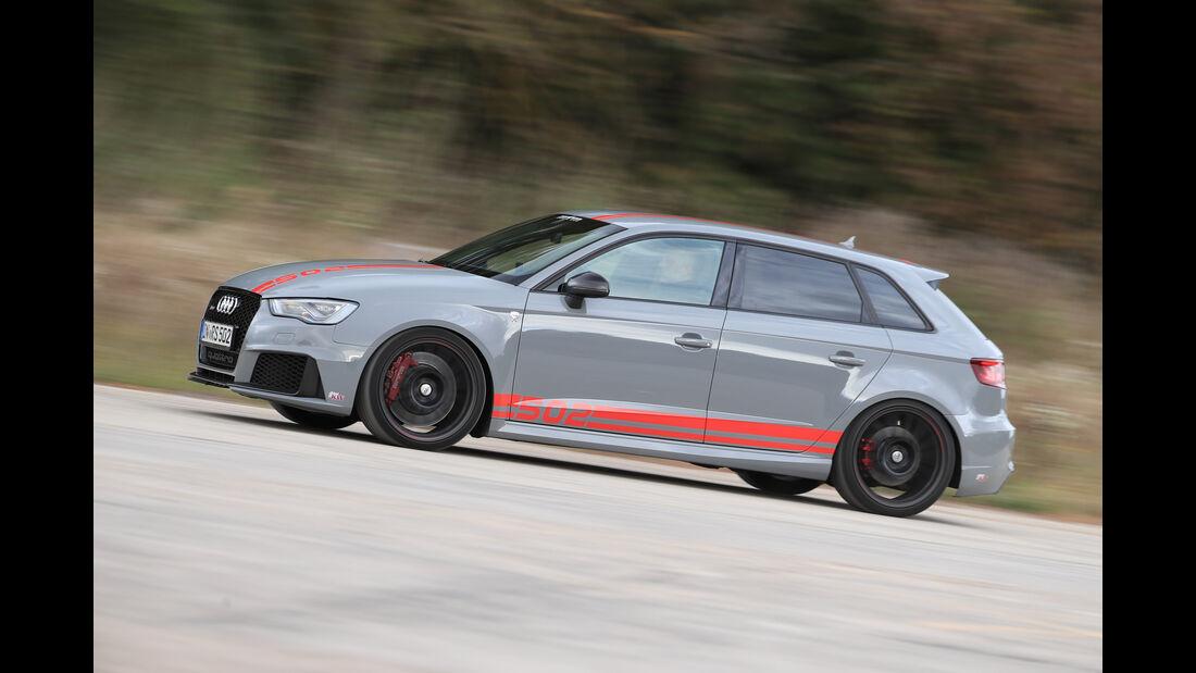 MTM-Audi RS 3 R, Seitenansicht