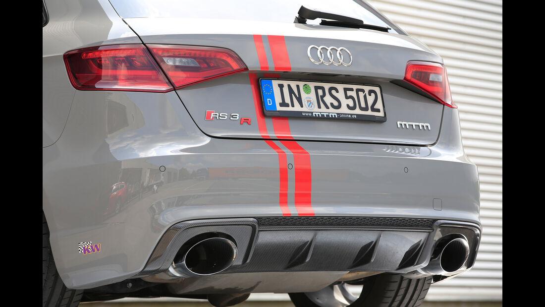 MTM-Audi RS 3 Sportback, Endrohre