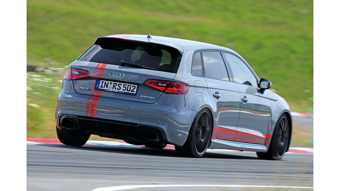 MTM-Audi RS 3 Sportback, Heckansicht