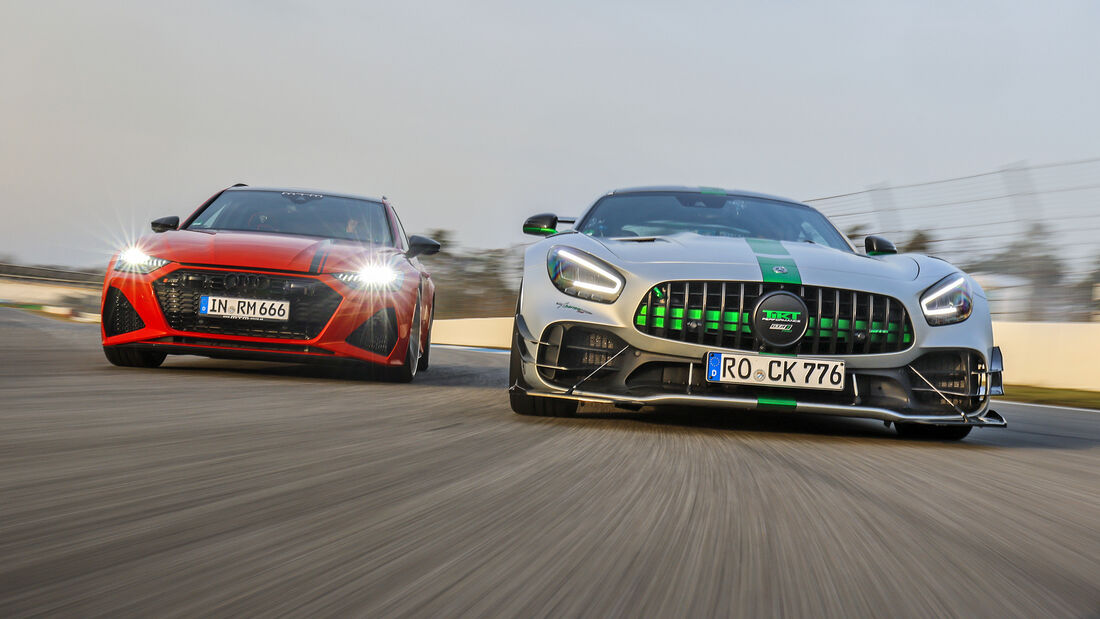 MTM-Audi RS 6 Avant, Tikt-Mercedes-AMG GT R Pro, Exterieur