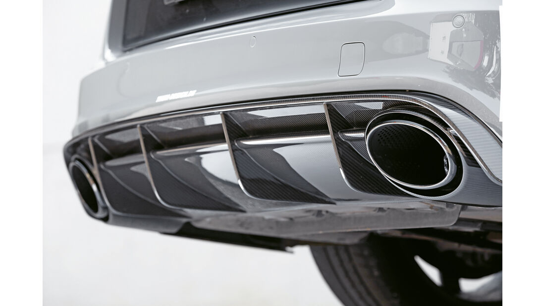 MTM-Audi RS 6 Clubsport, Auspuff, Endrohr
