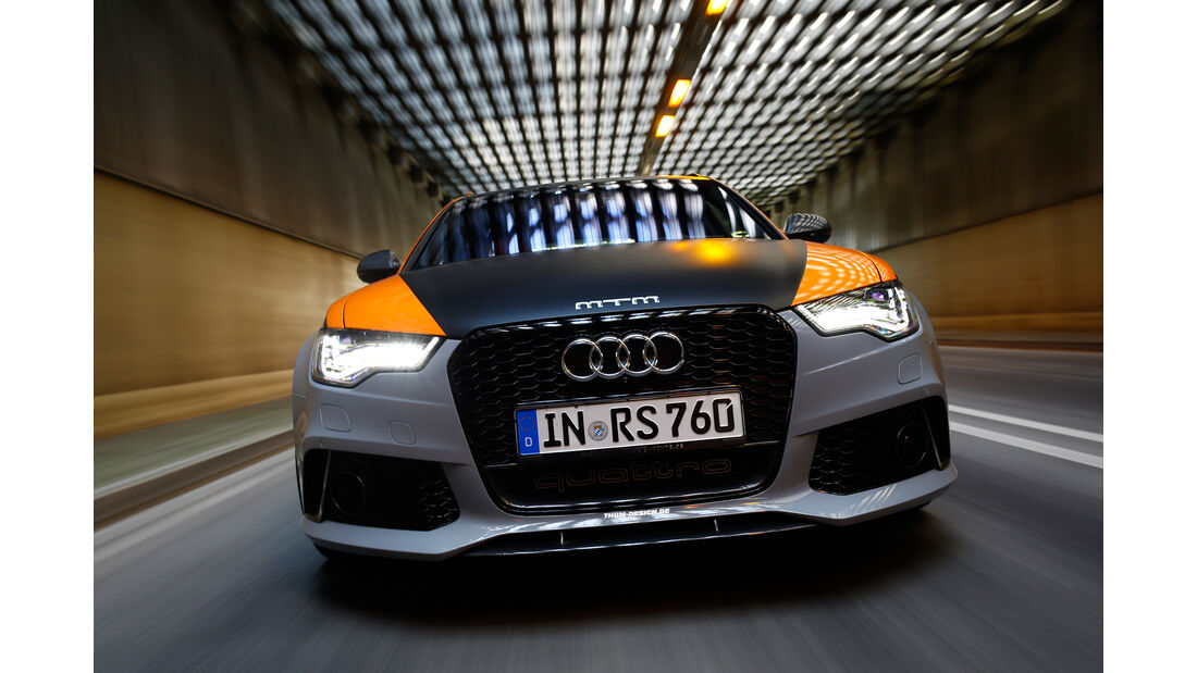 MTM-Audi RS 6 Clubsport, Frontansicht, Kühlergrill