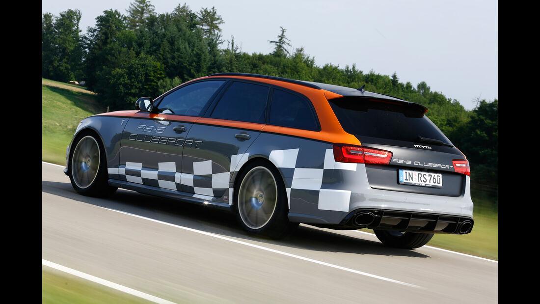 MTM-Audi RS 6 Clubsport, Heckansicht