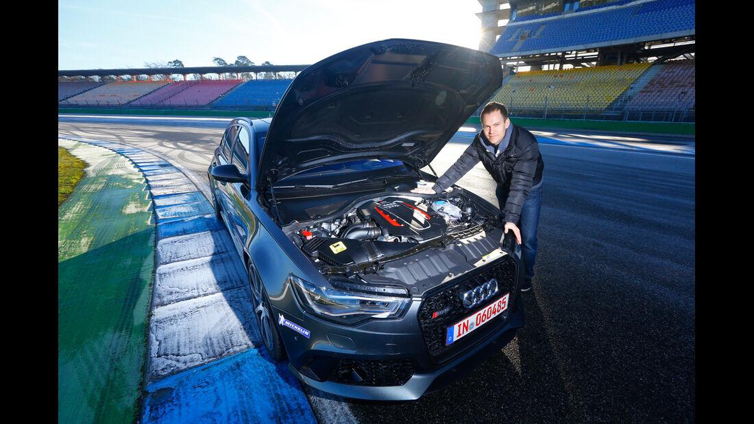 MTM-Audi RS 6 R, Motor, Christian Gebhardt