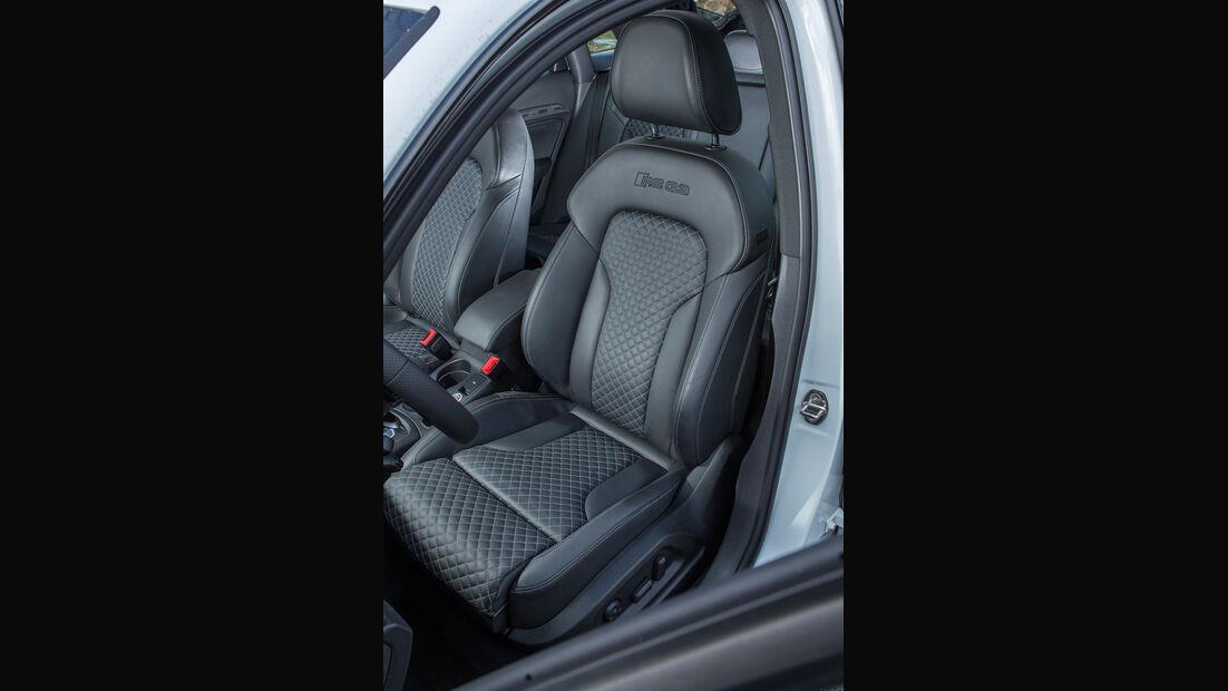 MTM Audi RS Q3, Fahrersitz