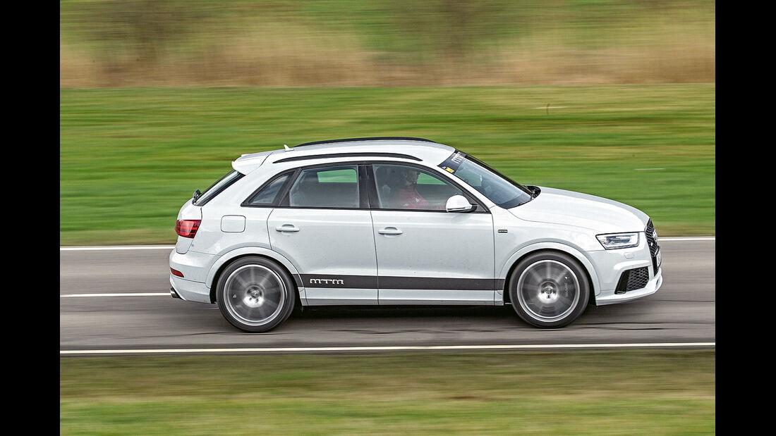 MTM Audi RS Q3, Seitenansicht, Frontansicht, spa 05/2014