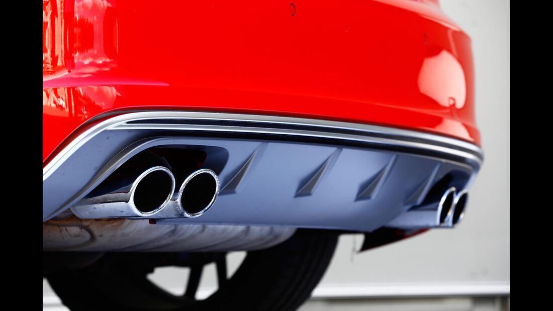 MTM-Audi S3, Auspuff, Endrohr