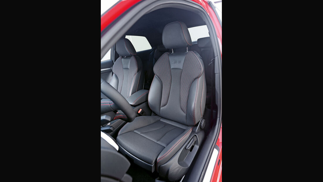 MTM-Audi S3, Fahrersitz