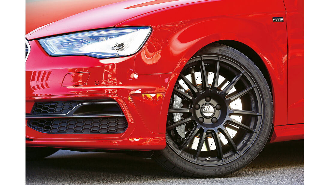 MTM-Audi S3, Rad, Felge, Bremse