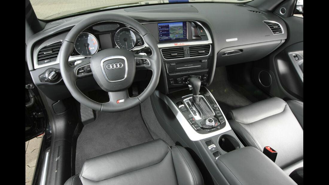MTM-Audi S5 Cabriolet Cockpit