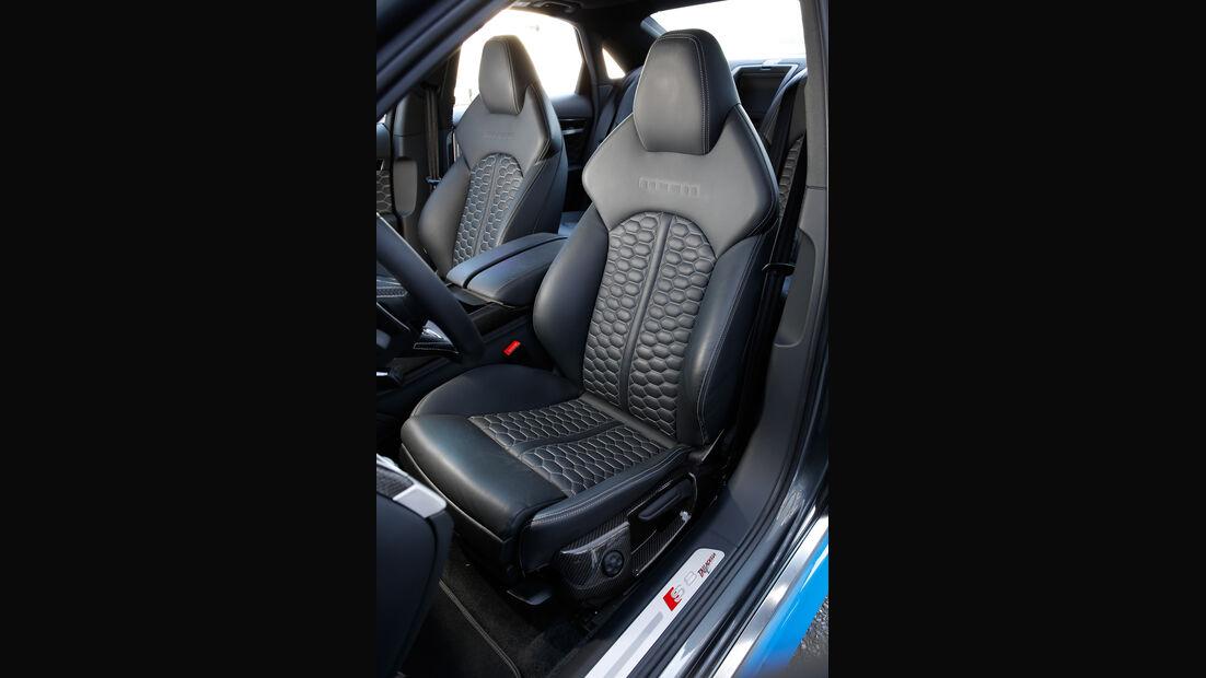MTM S8 Talladega S, Fahrersitz