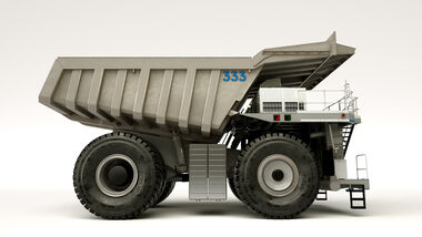 MTU Hybrid Mining Truck Concept