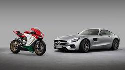 MV Agusta und Mercedes AMG