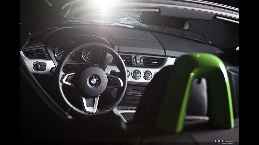 MWDesign BMW Z4, Cockpit