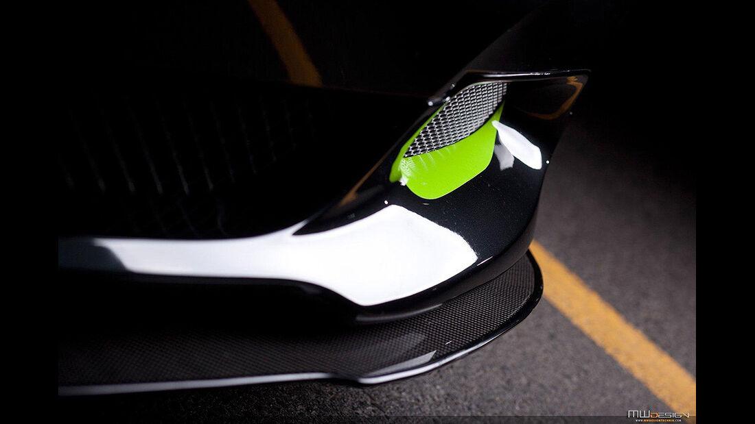 MWDesign BMW Z4, Frontspoiler, Lufteibnlass