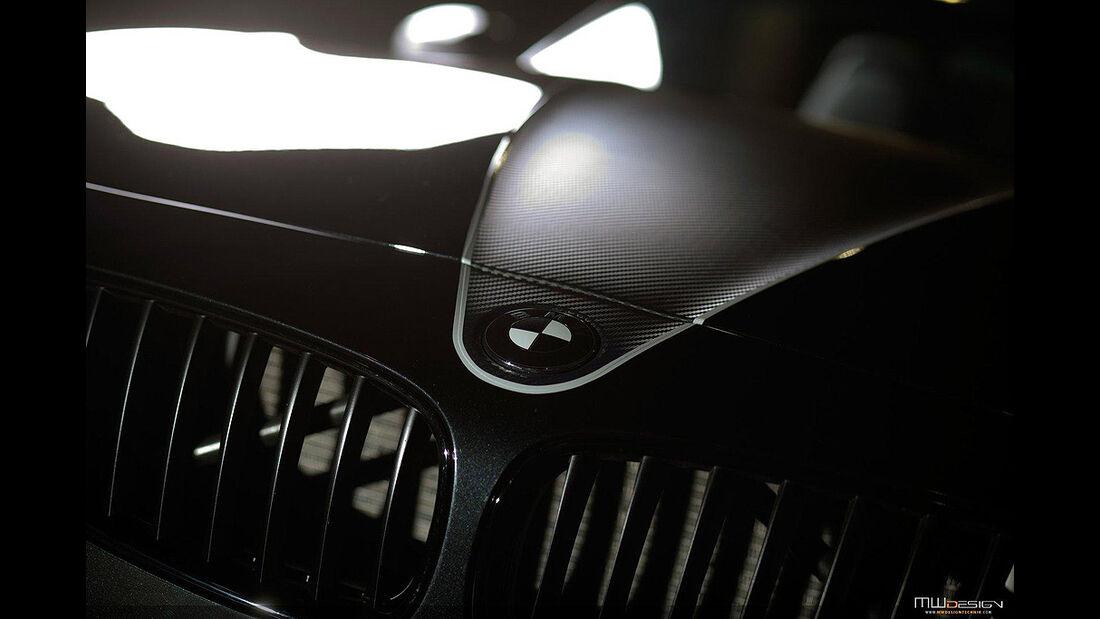 MWDesign BMW Z4, Motorhaube, Kühlergrill