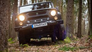 MWM Spartan Elektroauto UAZ