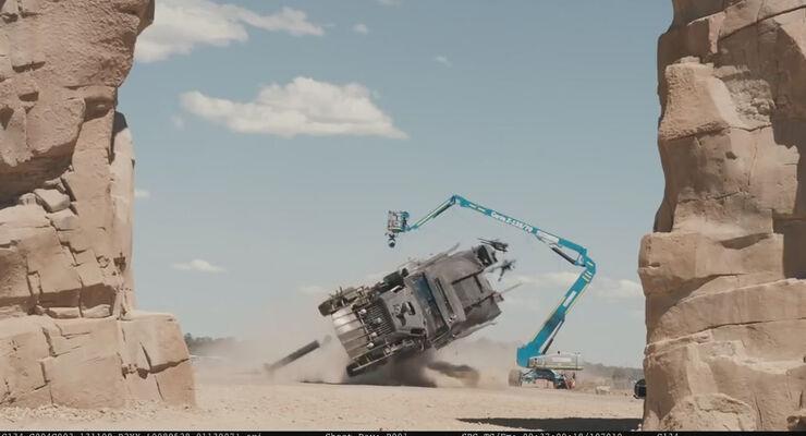 Mad Max Fury Road, Making-Of, Dreharbeiten