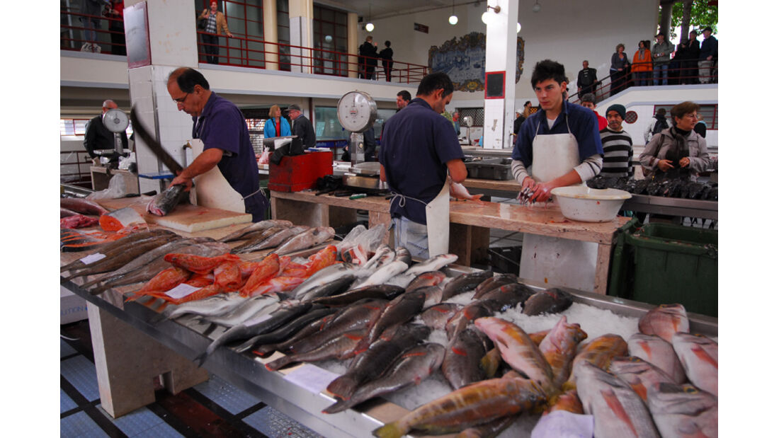 Madeira, Funchal, Fischmarkt