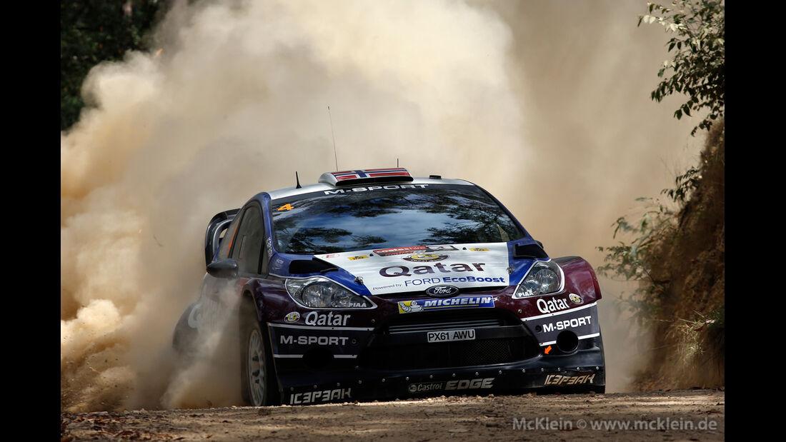 Mads Östberg - Rallye Australien 2013