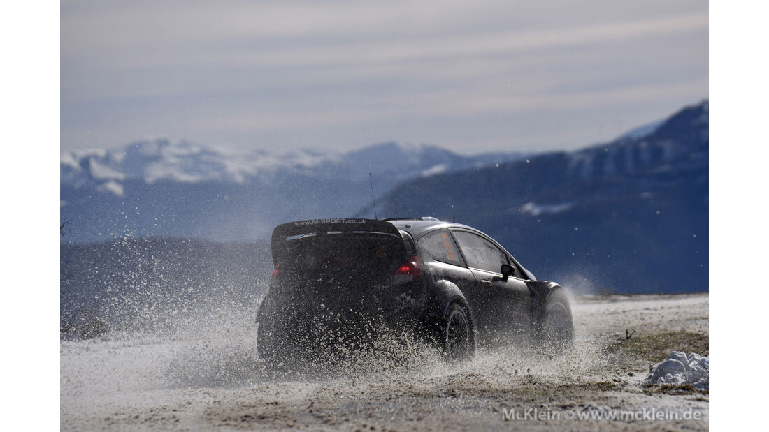 Mads Östberg - Rallye Monte Carlo 2016