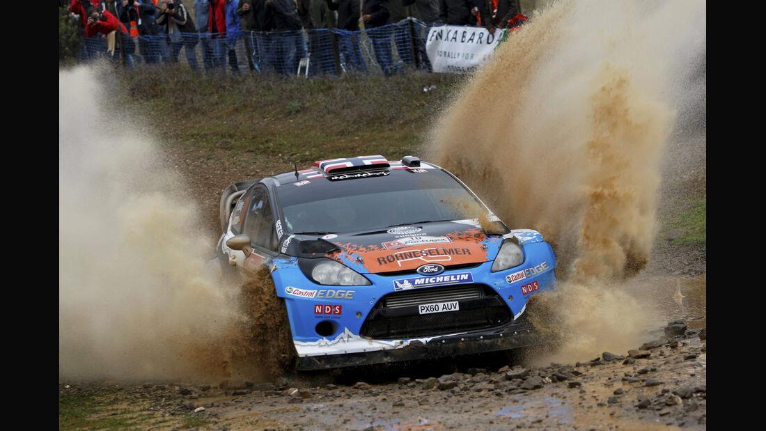 Mads Östberg Rallye Portugal 2012