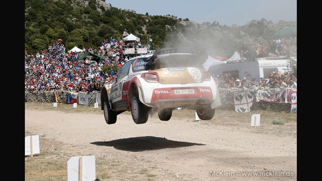 Mads Östberg - Rallye Sardinien 2014