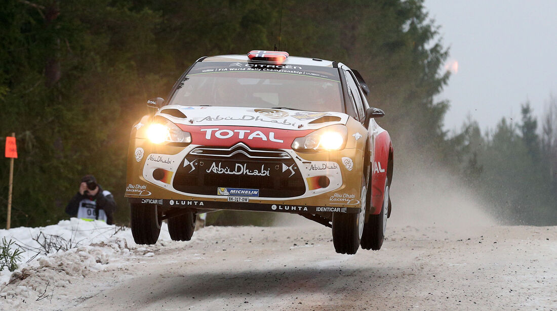 Mads Östberg - Rallye Schweden 2014