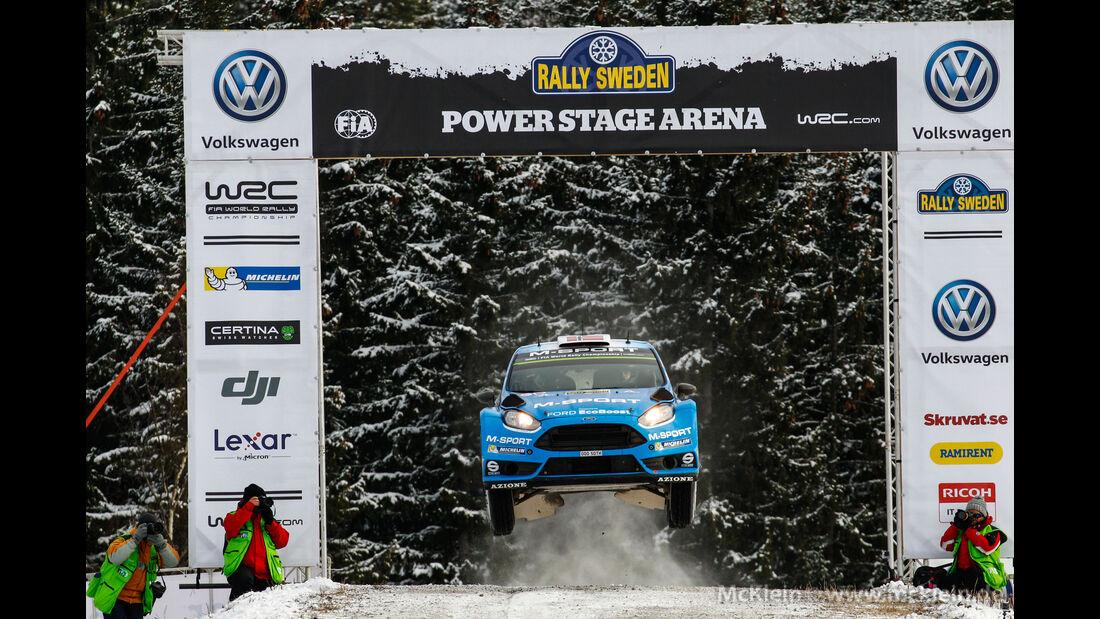 Mads Östberg - Rallye Schweden 2016