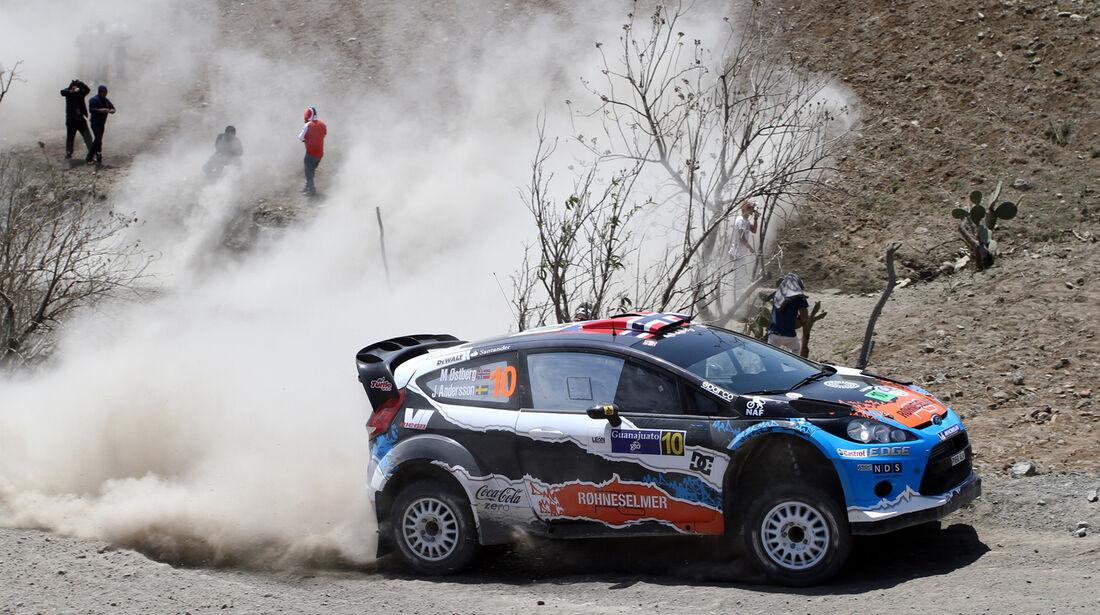 Mads Östberg WRC Rallye Mexiko 2012