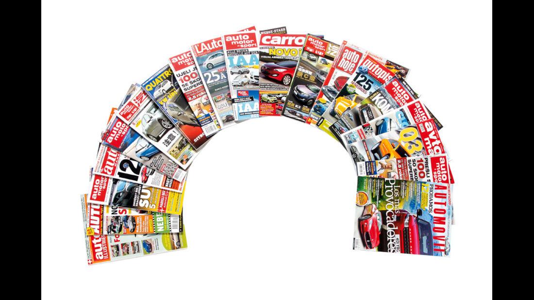 Magazine, Titelseiten
