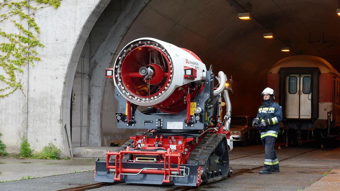 Magirus Aircore Taf 35 Löschroboter