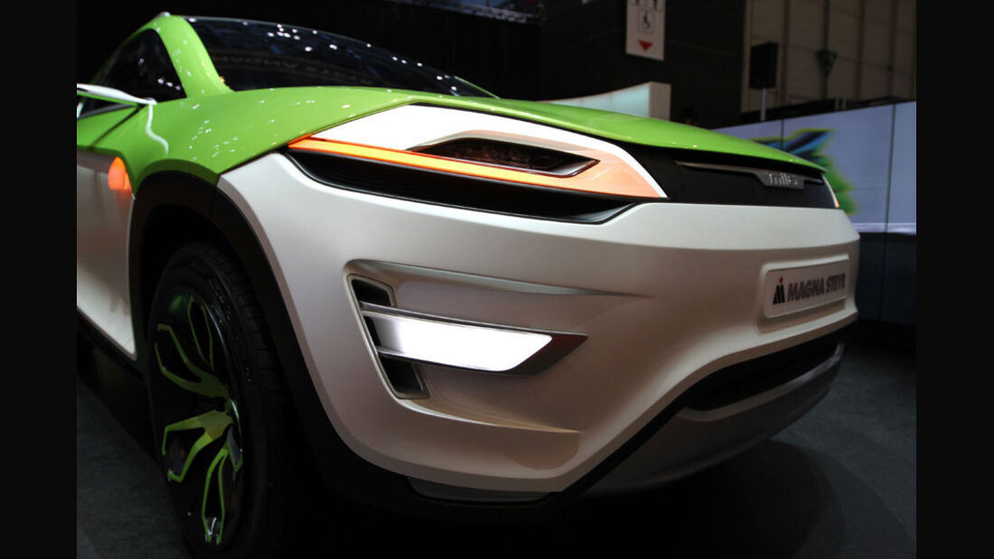 Magna Steyr Mila Coupic, Autosalon Genf 2012