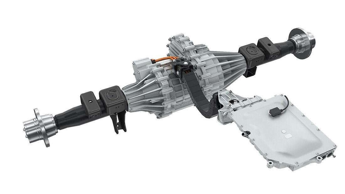 Magna eBeam elektrische Starrachse