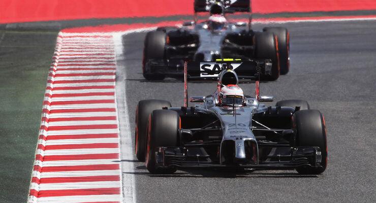 Magnussen & Button - McLaren - Formel 1 - GP Spanien - Barcelona - 10. Mai 2014