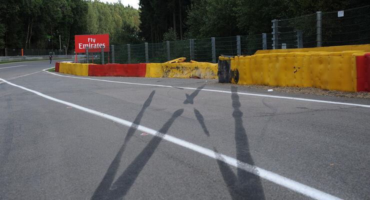 Magnussen Crash GP Belgien 2016