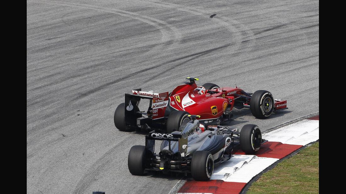 Magnussen & Räikkönen - GP Malaysia 2014