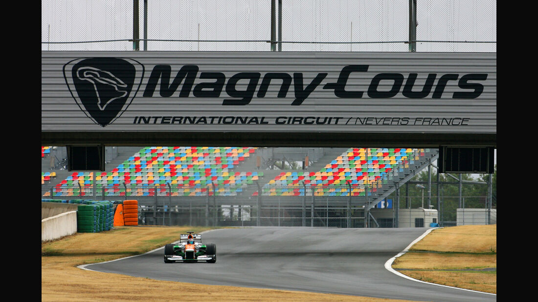 Magny Cours Force India 2012