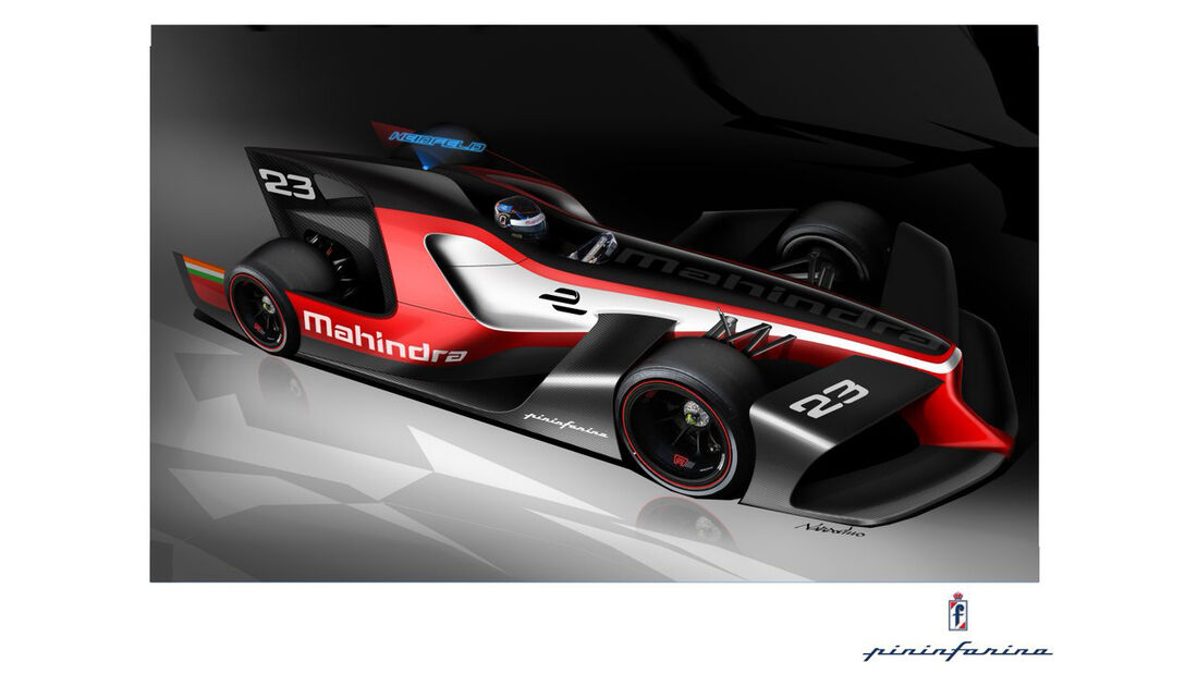 Mahindra - Formel E - Concept