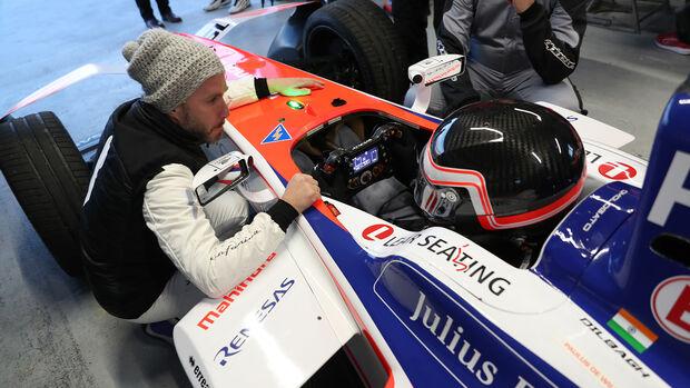 Mahindra - Formel E - Tracktest - Calafat - 14.11.2019