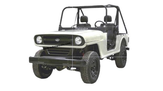 Mahindra Roxor Facelift 2020