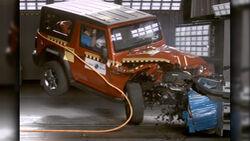 Mahindra Thar NCAP Crash Test