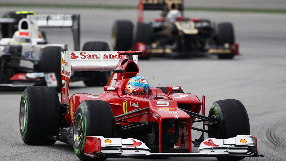 Malaysia Alonso 2012