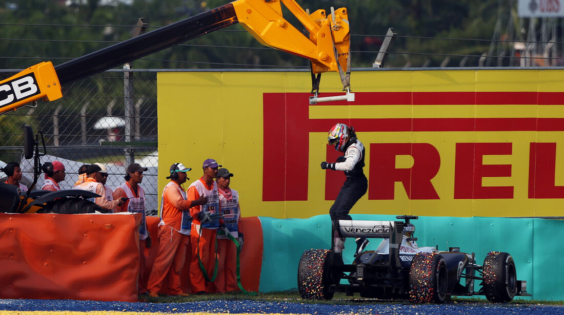 Maldonado - Formel 1 - GP Malaysia 2013