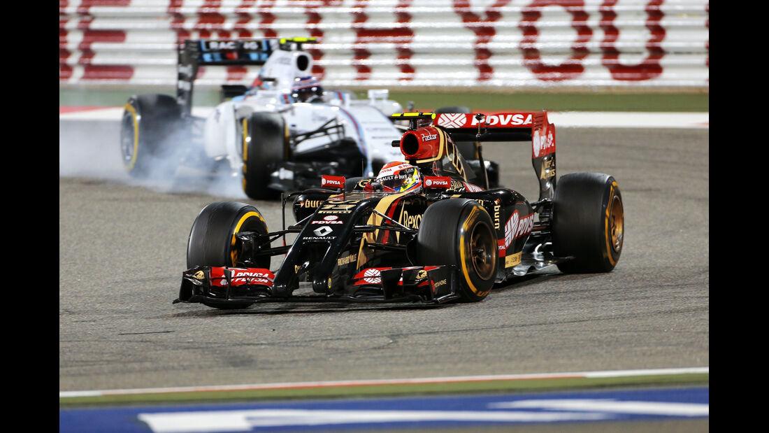 Maldonado - GP Bahrain 2014