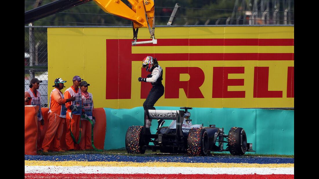Maldonado GP Malaysia 2013